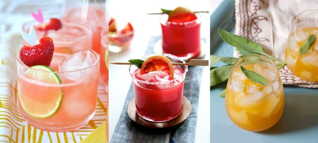 Коктейли фруктовая классика