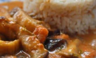 карри из баклажана рецепт