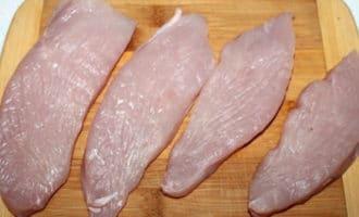 куриные отбивные в сыром виде
