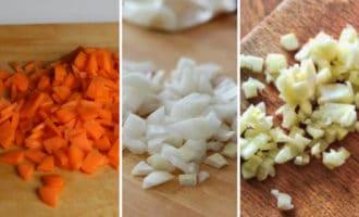 лук чеснок морковь