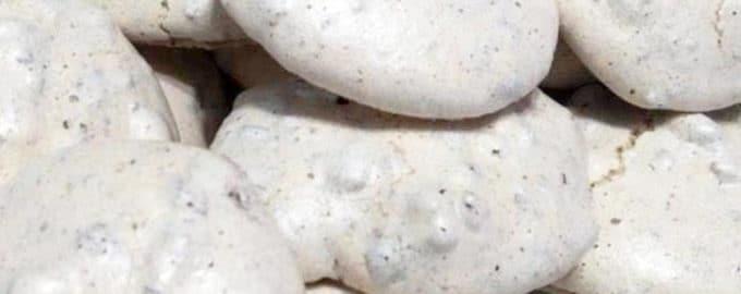 рецепт печенье из белка и орехов