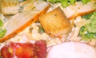 салат цезарь по домашнему рецепт