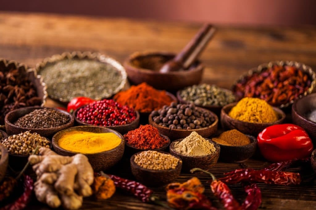 Специи в индийской кулинарии