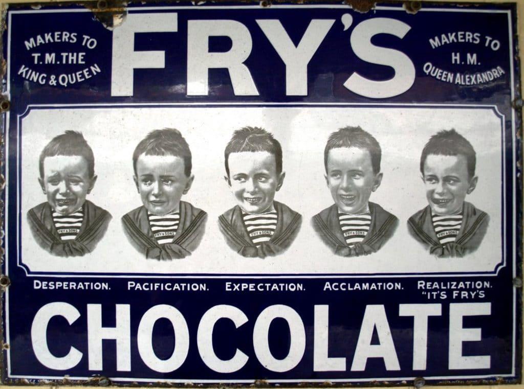 Шоколад компании The Fry and Sons