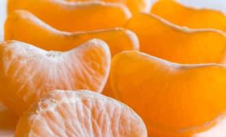 мандарины почищенные дольками