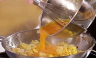 фриттата с яйцами