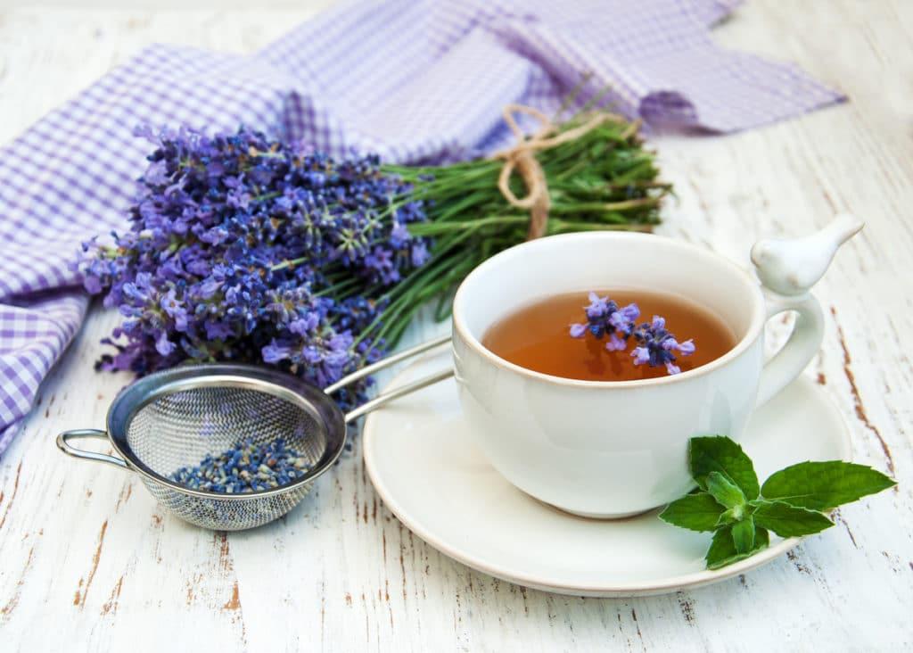 Лавандовый чай