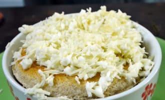 луковый суп с сыром в формочках