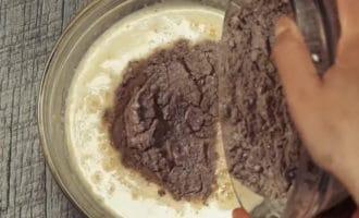 мука с какао брауни