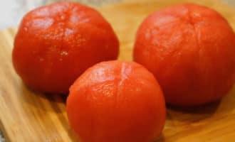 помидоры без кожуры