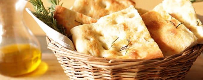 рецепт хлеба фокачча