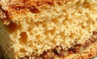 рецепт орехового кекса