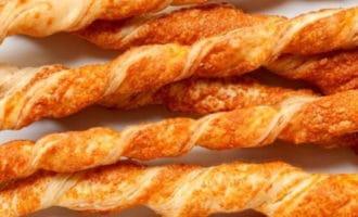 рецепт сырные палочки из теста