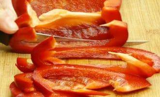 болгарский перец соломкой