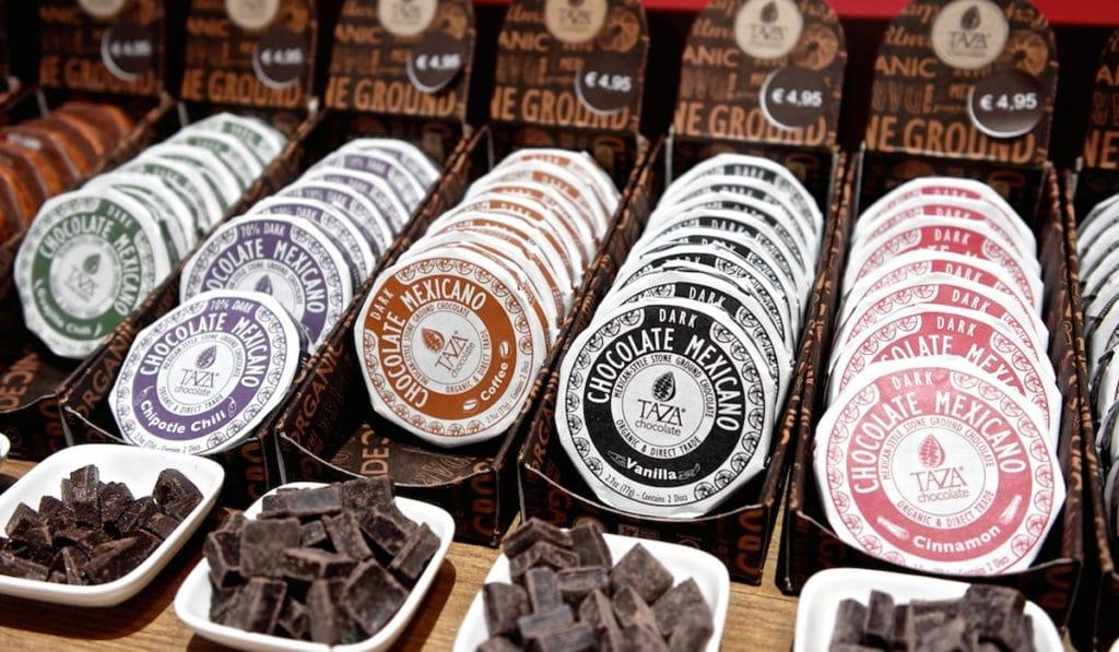 Фестиваль шоколада в Амстердаме