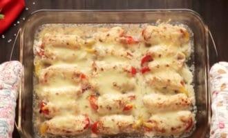 готовые рулеты из курицы в духовке с сыром
