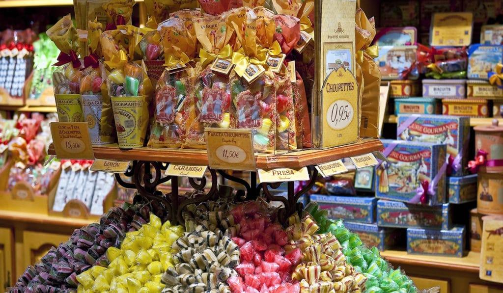 Посещение музея конфет в Нью-Йорке