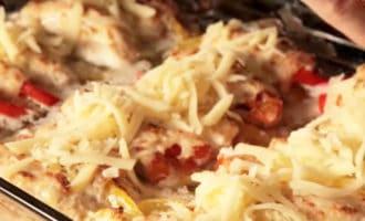 рулеты из курицы в духовке с сыром