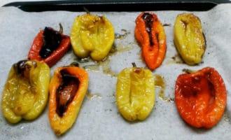 сладкие перцы в духовке