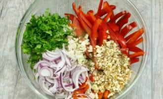 ингредиенты для салата тбилиси