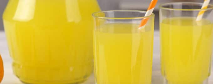 Домашний апельсиновый сок рецепт