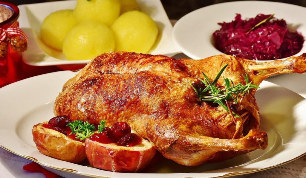 Еда на Рождество в Дании