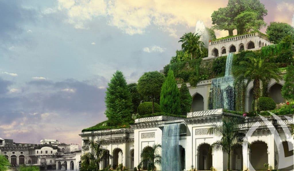 Фисташки в Висячих садах Семирамиды