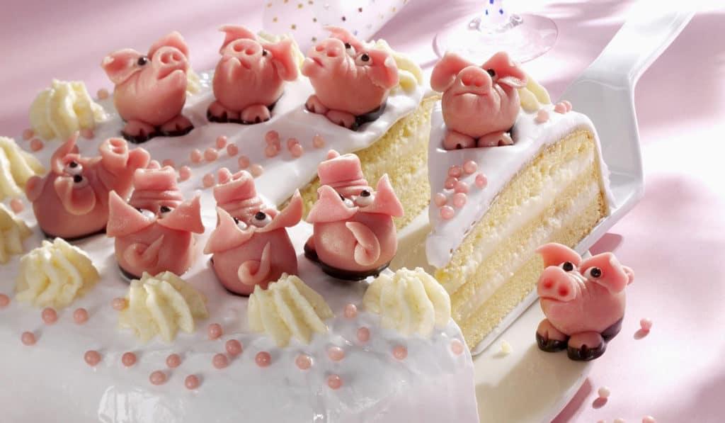 Марципановые свинки