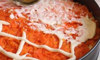Морковь с майонезом