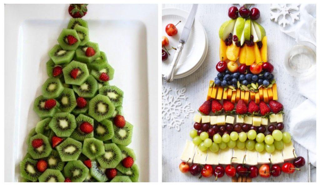 Оригинальная подача фруктов к столу