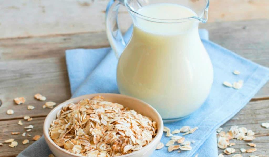 овсяное молоко без лактозы
