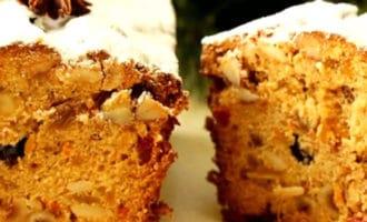 Рождественский кекс а-ля Штоллен рецепт