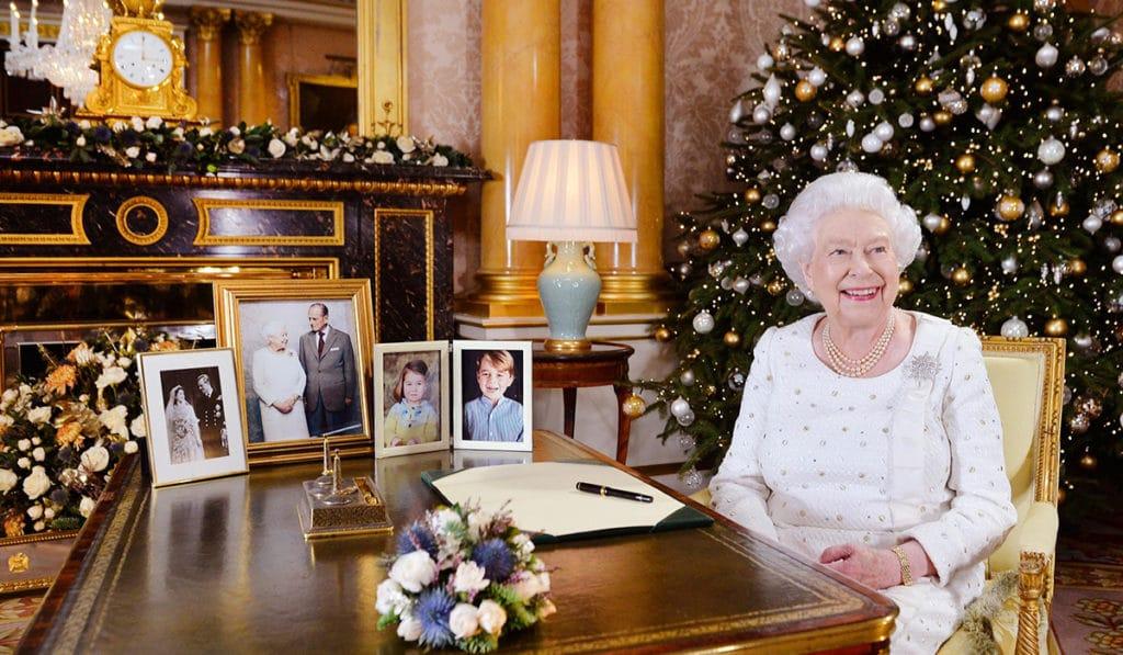 Рождественский завтрак королевской семьи