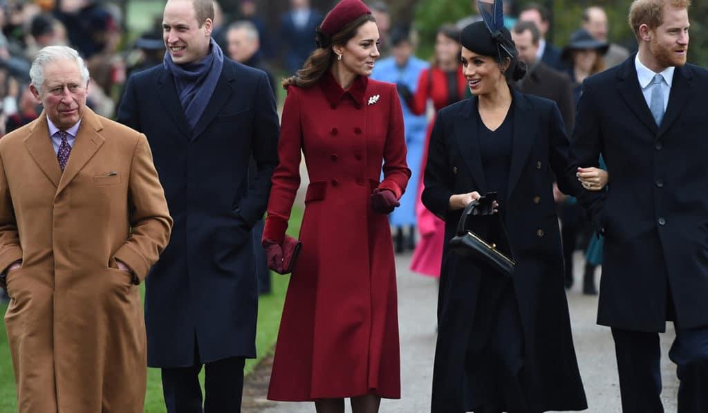 Рождественское меню королевской семьи Британии