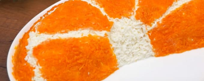 Салат Долька апельсина рецепт