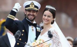 Самые красивые свадебные королевские торты