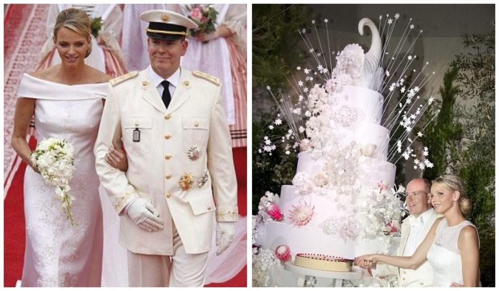 Свадебный торт принца Альберта и Шарлен