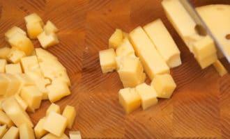 Сыр маасдам кубиком