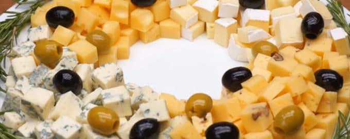 Сырная тарелка рецепт