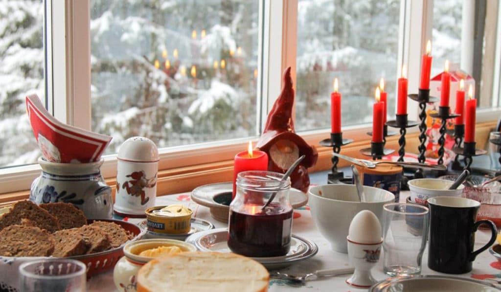 Традиционная еда на праздники в Норвегии