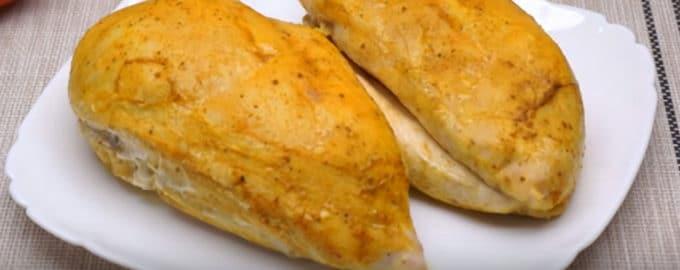 Запеченная куриная грудка рецепт