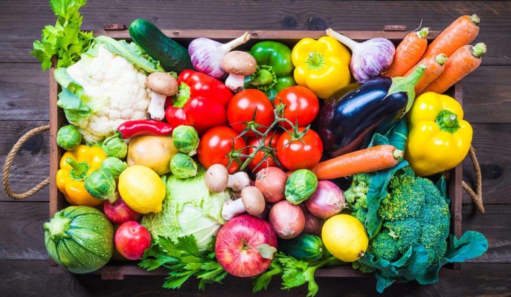 Фрукты и овощи в нашем рационе