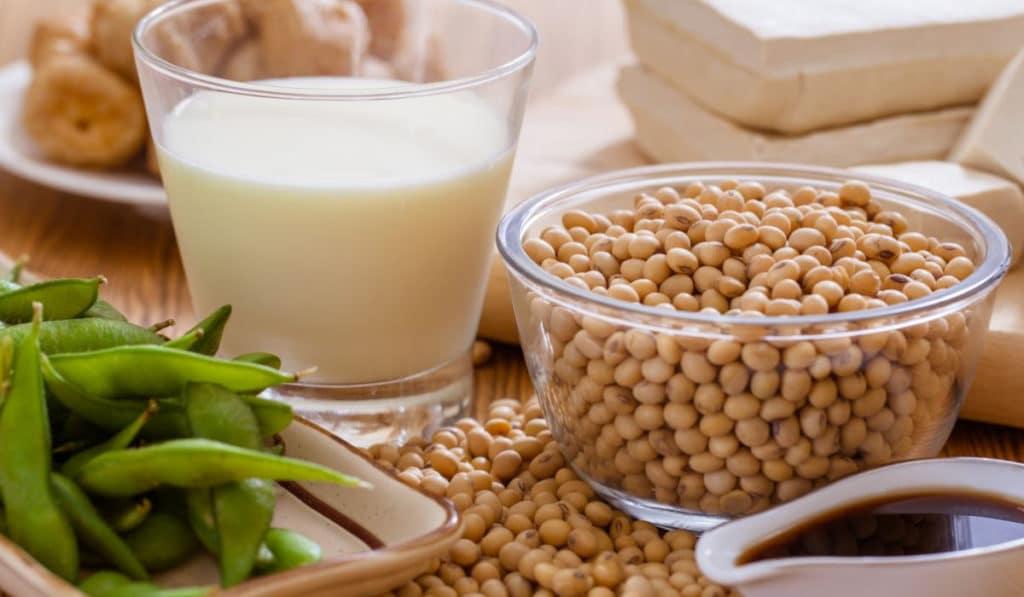 Продукты с соевым белком