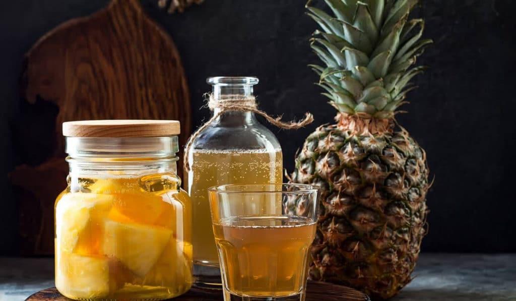 Сироп от кашля из ананаса