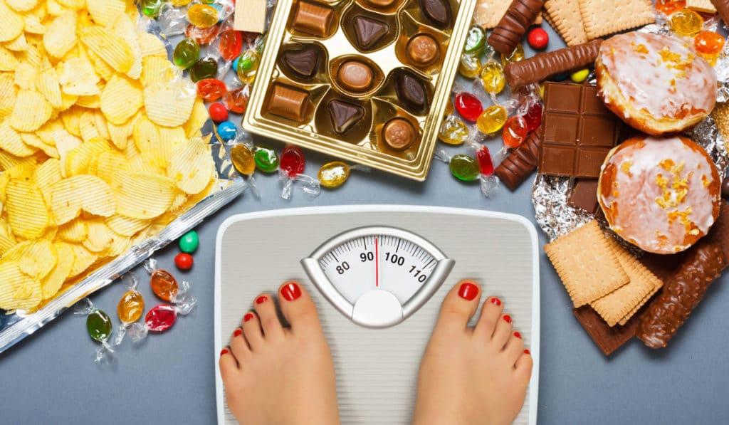 Вляние пищевой зависимости на вес