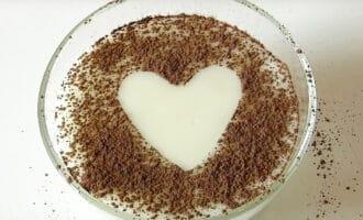 молочный кисель с какао порошком