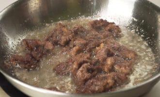 обжаренная вырезка говядины