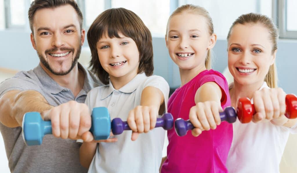 Здоровые привычки для семьи