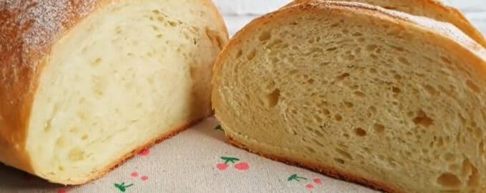 белый пшеничный хлеб рецепт