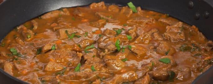 говядина в подливе рецепт